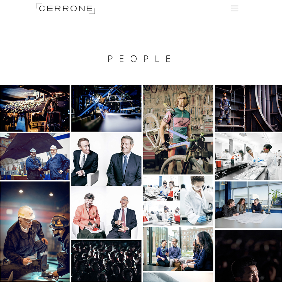Cerrone Photography Website Design