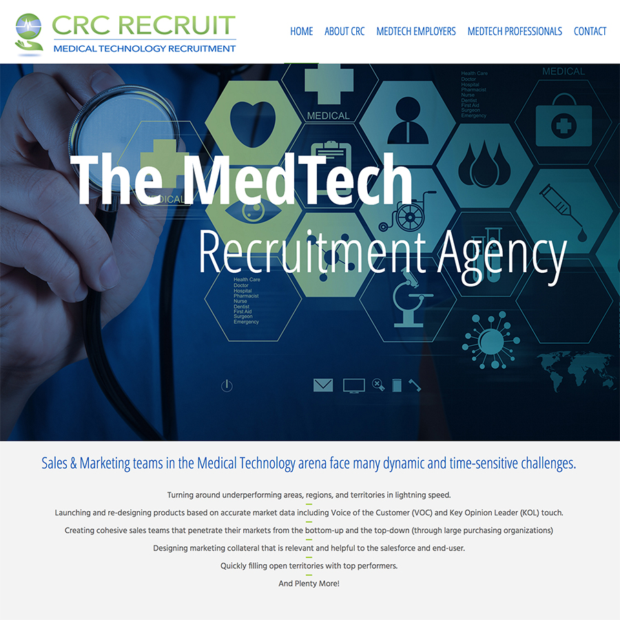 Capital Resource Consultants Web Design