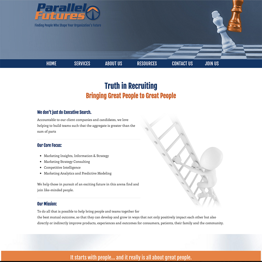 Parallel Futures, LLC Website